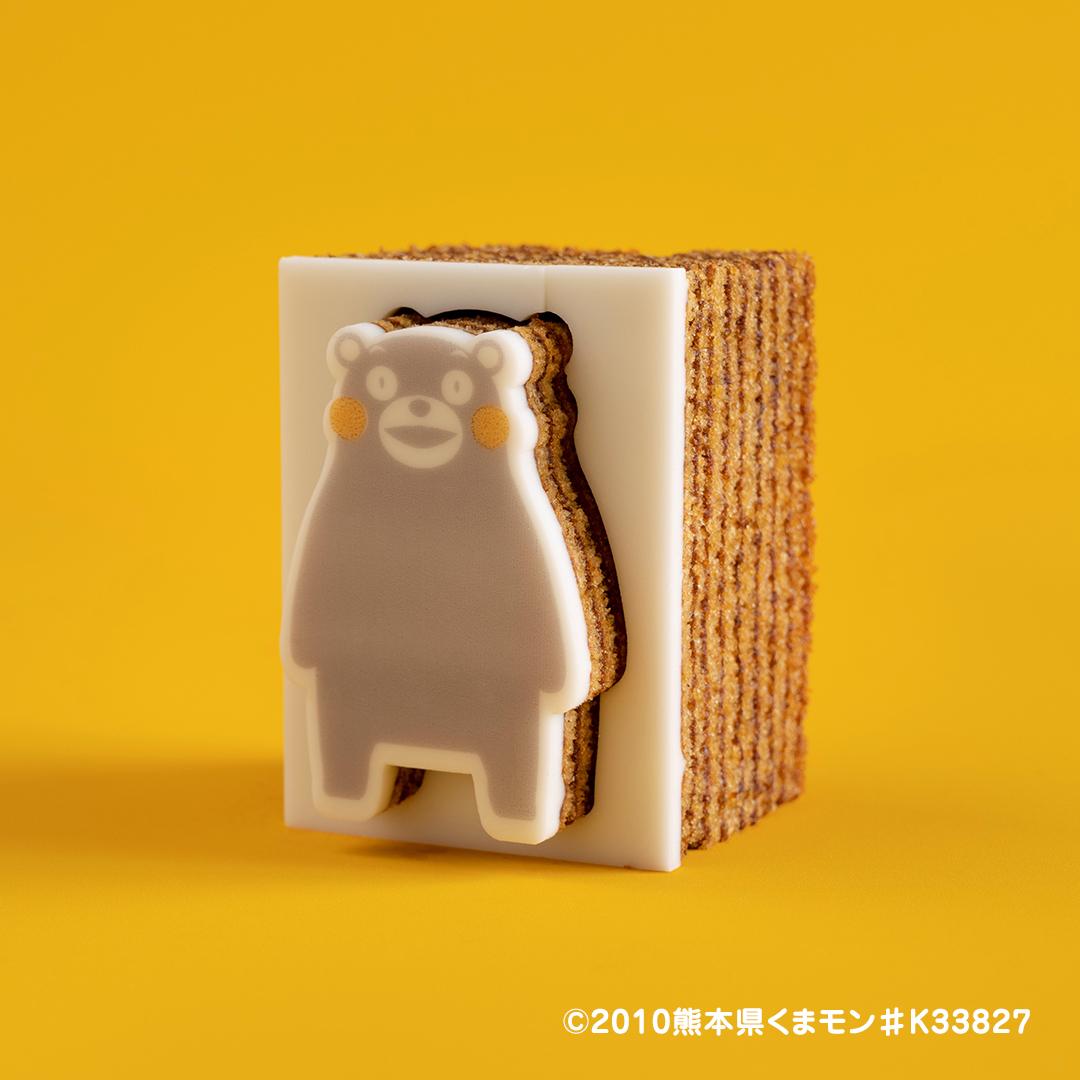 カタヌキヤが「くまモン型 型ぬきバウム」をリリース!